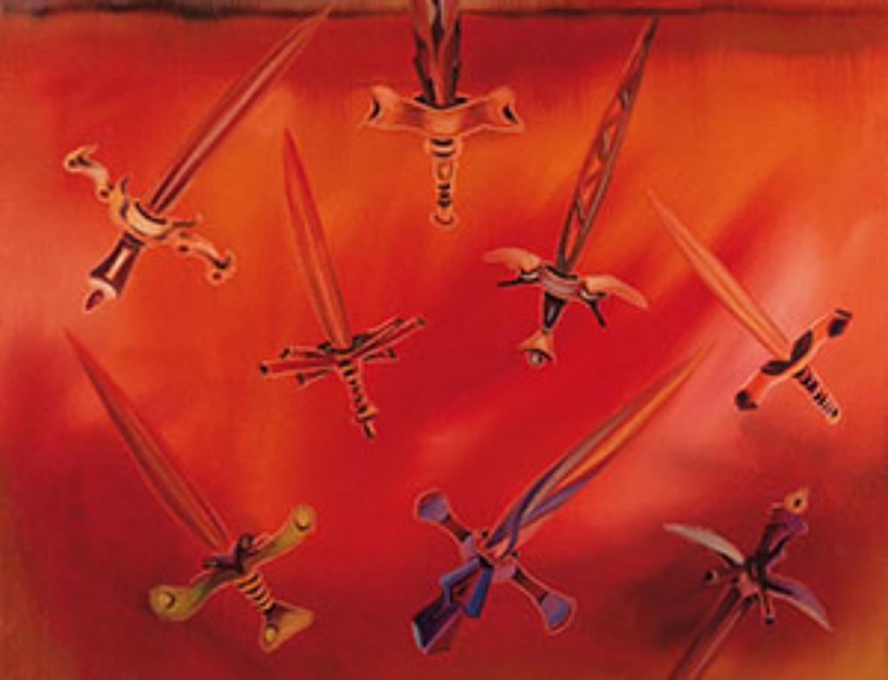 10 Zehn Schwerter – der Untergang