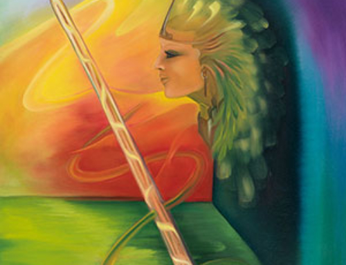 THE PRINCESS OF WANDS